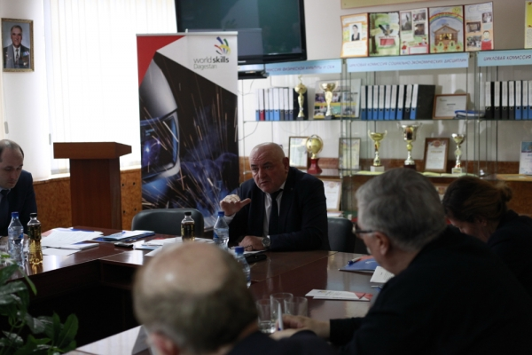 В рамках Чемпионата WorldSkills Dagestan-2016 обсудили  вопросы формирования кадрового потенциала Республики.